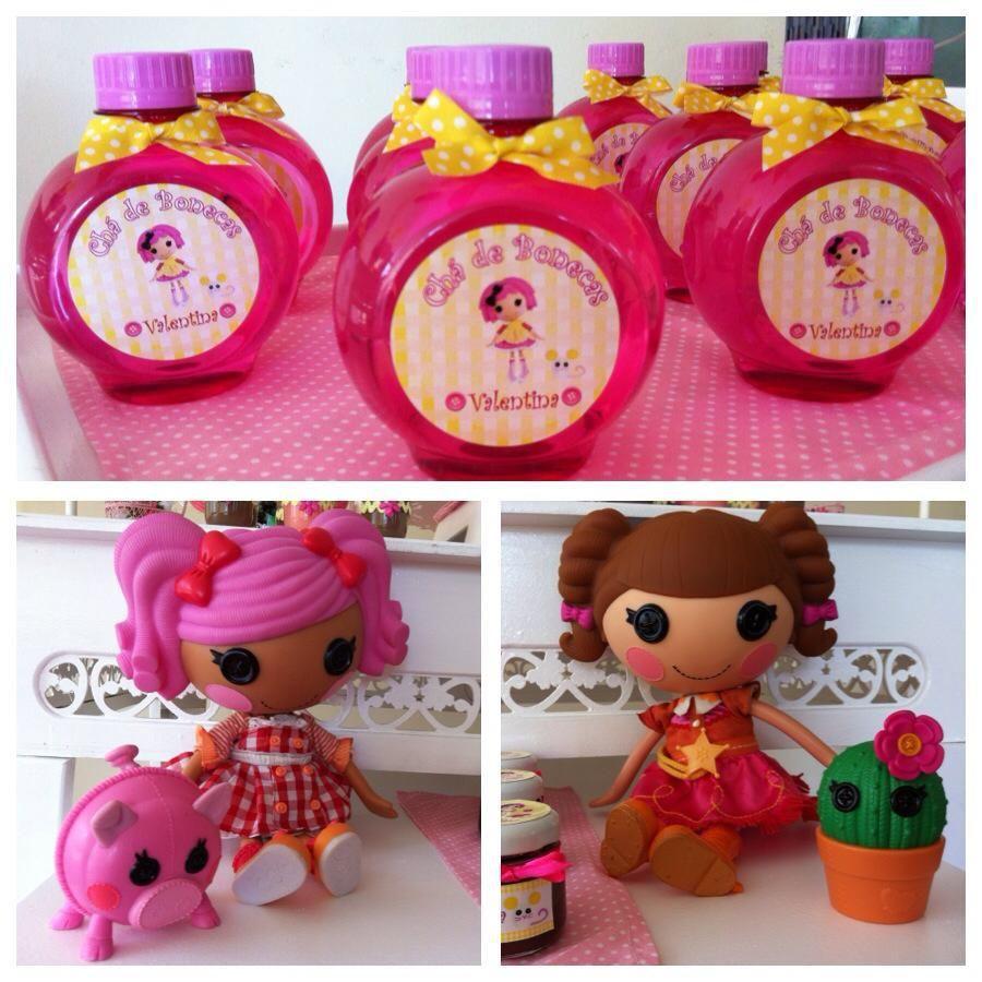 Vidrinhos de perfume para banheiro Lalaloopsy