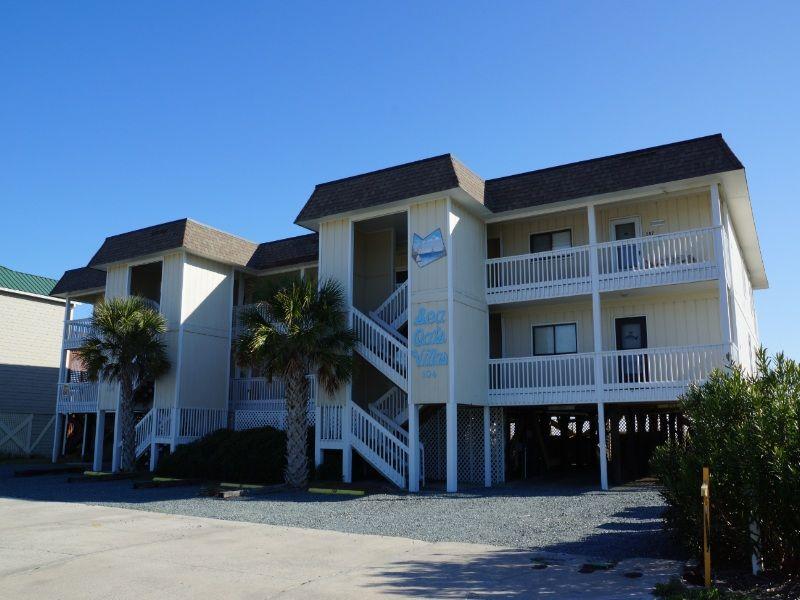 Holden Beach Nc Sea Oats Villas Unit  Bedroom Oceanfront Rental Condo