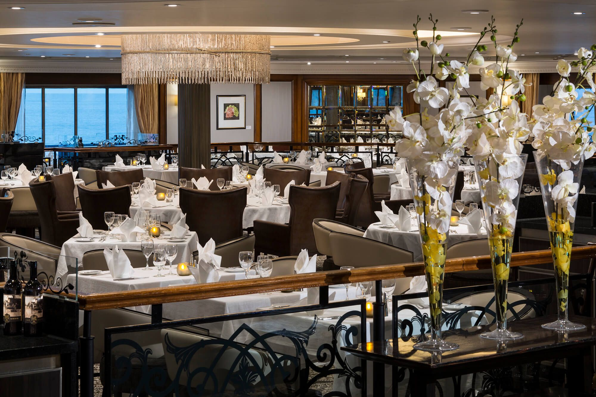 Image result for discoveries restaurant azamara quest