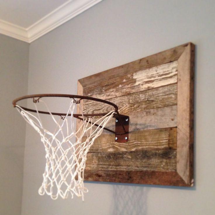 Beau Boys Basketball Hoop In Bedroom Ideas Hgtv | ... We Made For Client. Easy  DIY Basketball Hoops For Bedrooms Wood Works