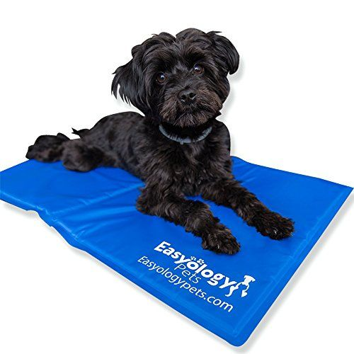 Large Pet Cooling Mat Cold Gel Pad For Cats And Dogs Best For Keeping Pets Cool Perfect Size For Couch Fits T Cool Dog Beds Dog Cooling Mat Covered Dog Bed