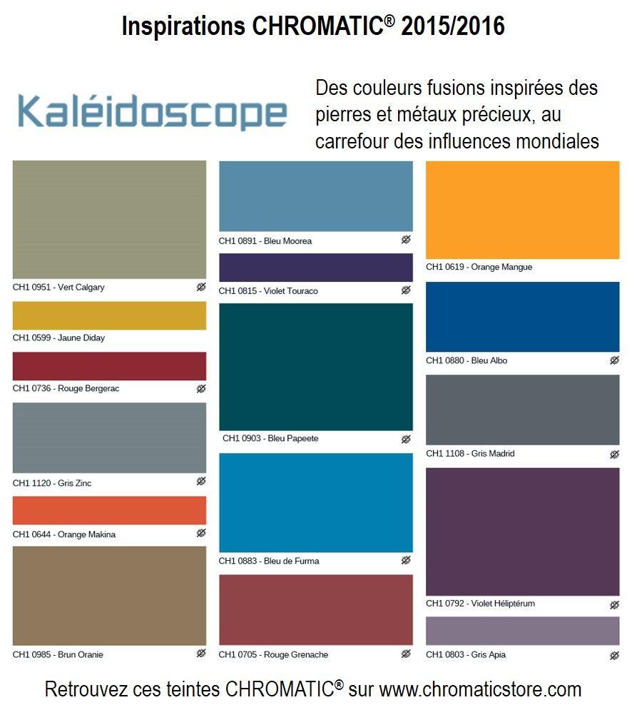 Tendances Chromatic 2015 Kaleidoscope Des Couleurs Fusions Inspirees Des Pierres Et Metaux Precieux Au Carrefour Des Nuancier Peinture Couleur Couleur Mur