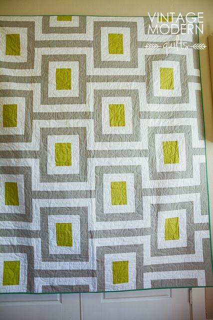 Mid Century Quilt : century, quilt, Midcentury, Quilt, Pattern, Vintagemodernquilts, Lisa,, Flickr, Vintage, Modern, Quilts,, Patterns