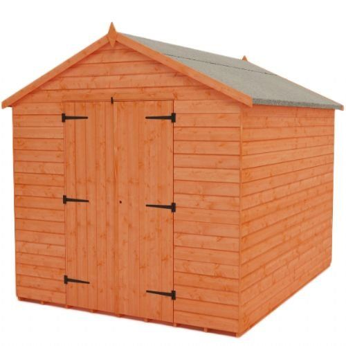 Tiger Sheds Tiger 6 Ft W X 8 Ft D Tongue And Groove Apex Wooden Shed With Images Shed Wooden Sheds Apex Shed