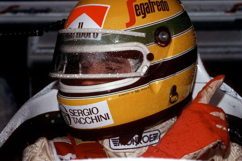 Helmet Visor Sticker Ayrton Senna F1 fan 1990/'s Racing