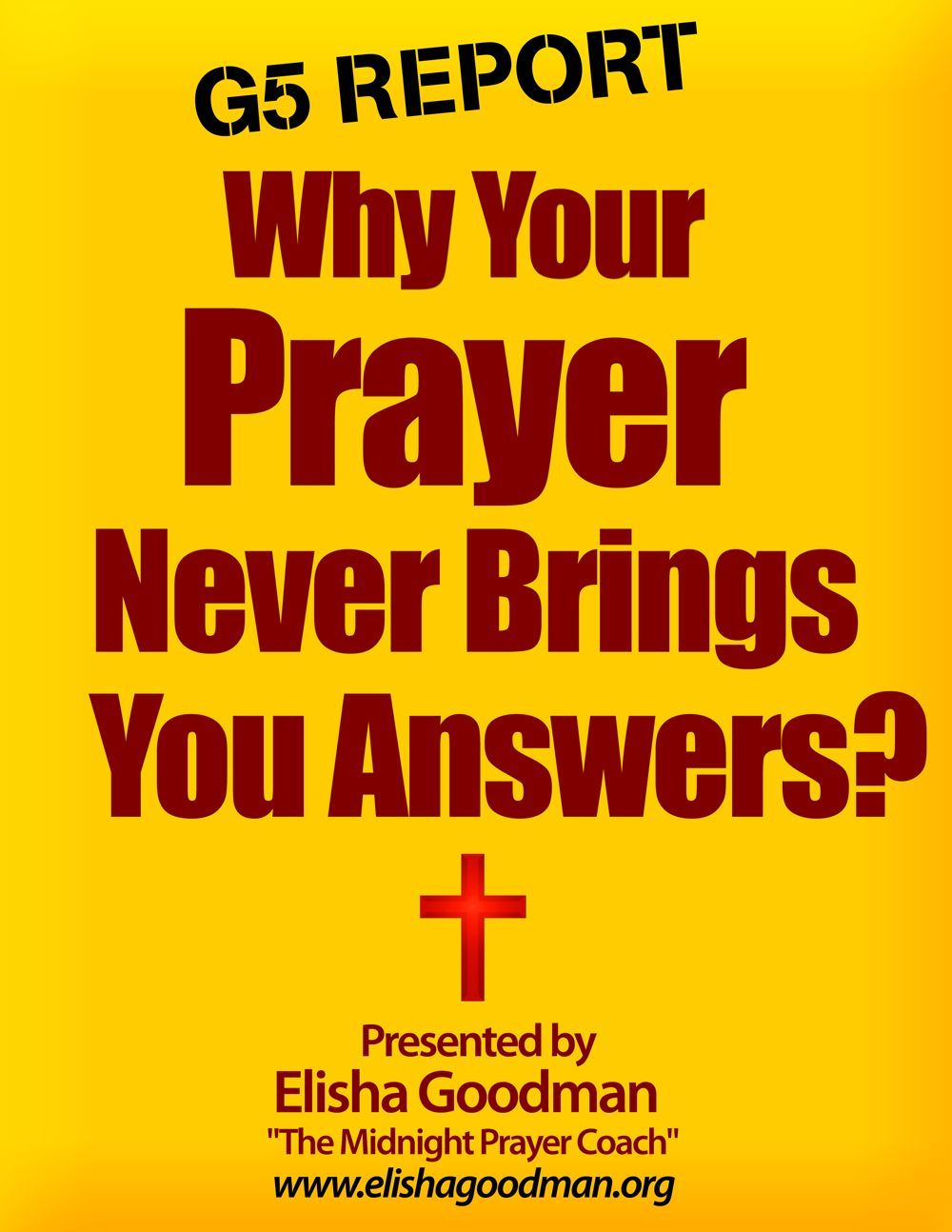 Download (free) Elisha Goodman Official Website Articles, Books,