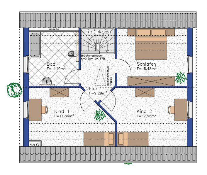 Grundrisse für das eigene Haus erstellen Grundriss