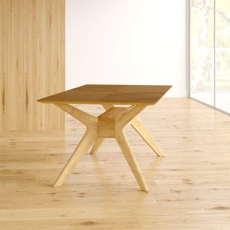 Selena Solid Wood Dining Table Ahşap Projeleri