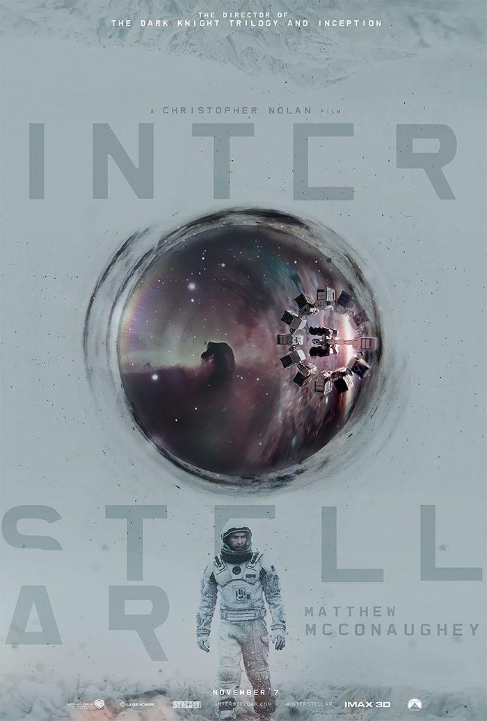 Alternative Interstellar Posters by James Fletcher | Inspiration Grid | Design Inspiration