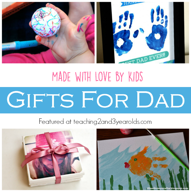 Homemade Father S Day Gifts Teaching 2 And 3 Year Olds Activities