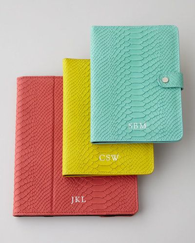 Graphic Image Python Monogrammed iPad Mini Case