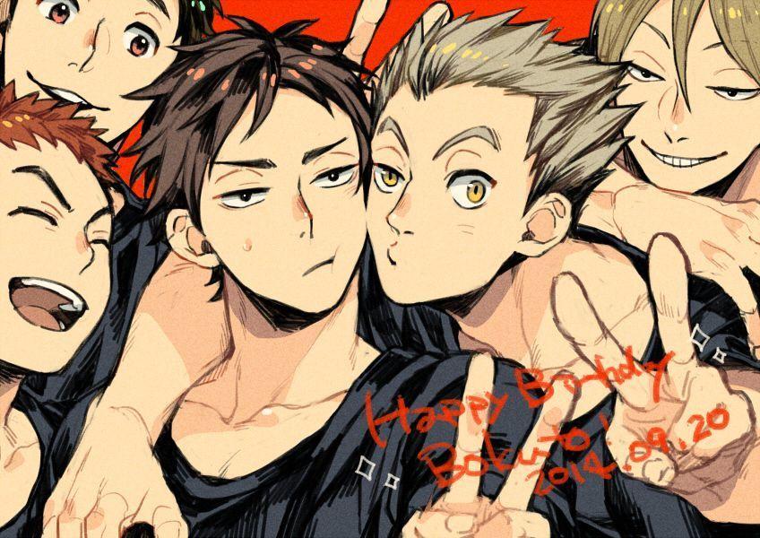 Las mejores versiones de Haikyuu! 🏐🏐🏐 - Haikyuu teams: Fukurodani 🌵🌵🌵
