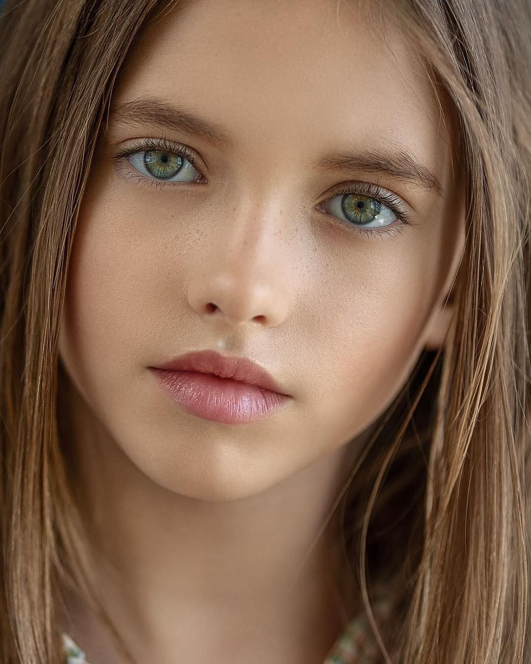 Innocent young model