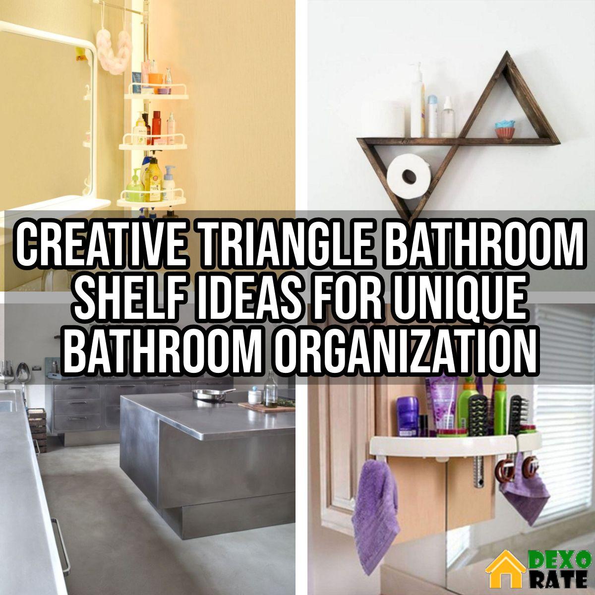 Bathroom Shelf Ideas