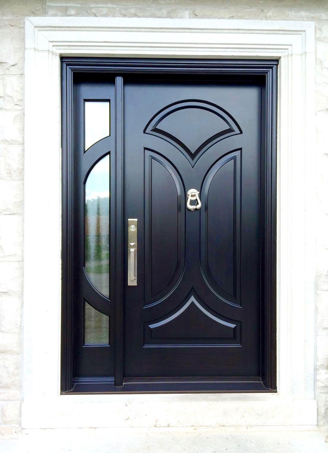 Amberwood Doors Inc: This Beautiful #Amberwood Custom Side Door Entry With 1