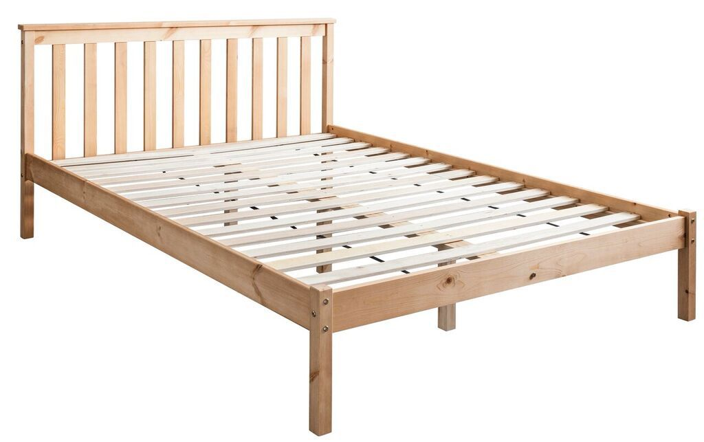 Noa and Nani Winchester Double Bed in Natural | £89.99 ...
