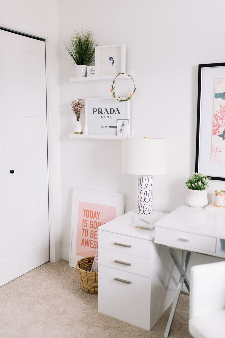 Home Office Organization Tips | Workstation decor | Pinterest ...