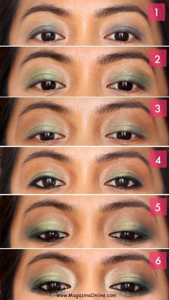 MakeUp Tutorials For Brown Eyes Blue eye makeup tutorial