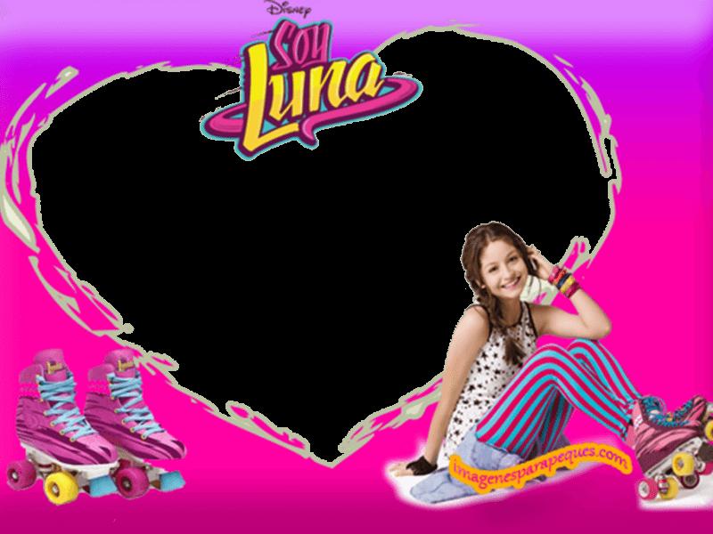 Marco Soy Luna Cumpleanos De Soy Luna Marcos Para Fotos Invitaciones De Soy Luna