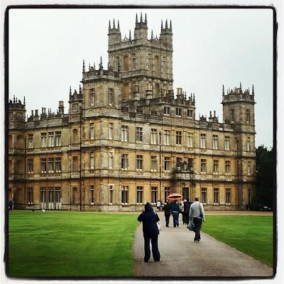 Highclere Castle (also known as Downton Abbey)