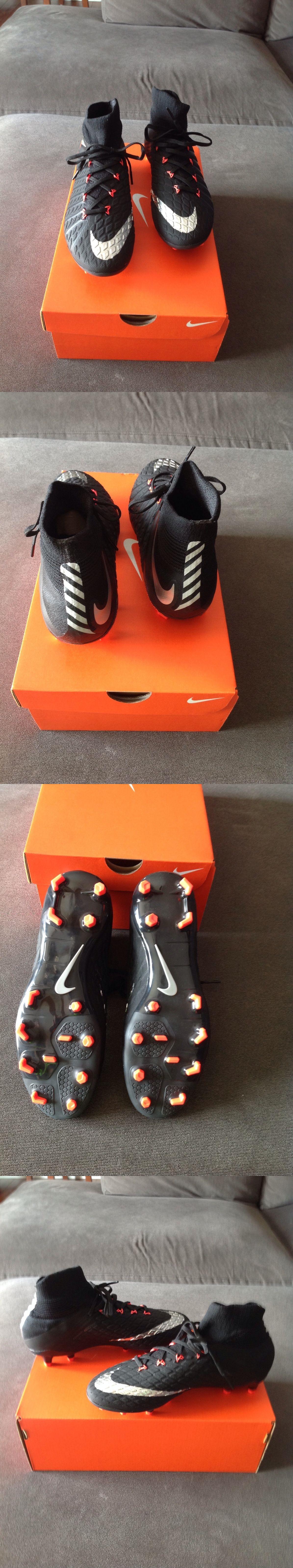 Women 159176: Nike Jr. Flyknit Hypervenom Phantom 3 Df Fg Soccer Cleats  Youth Women