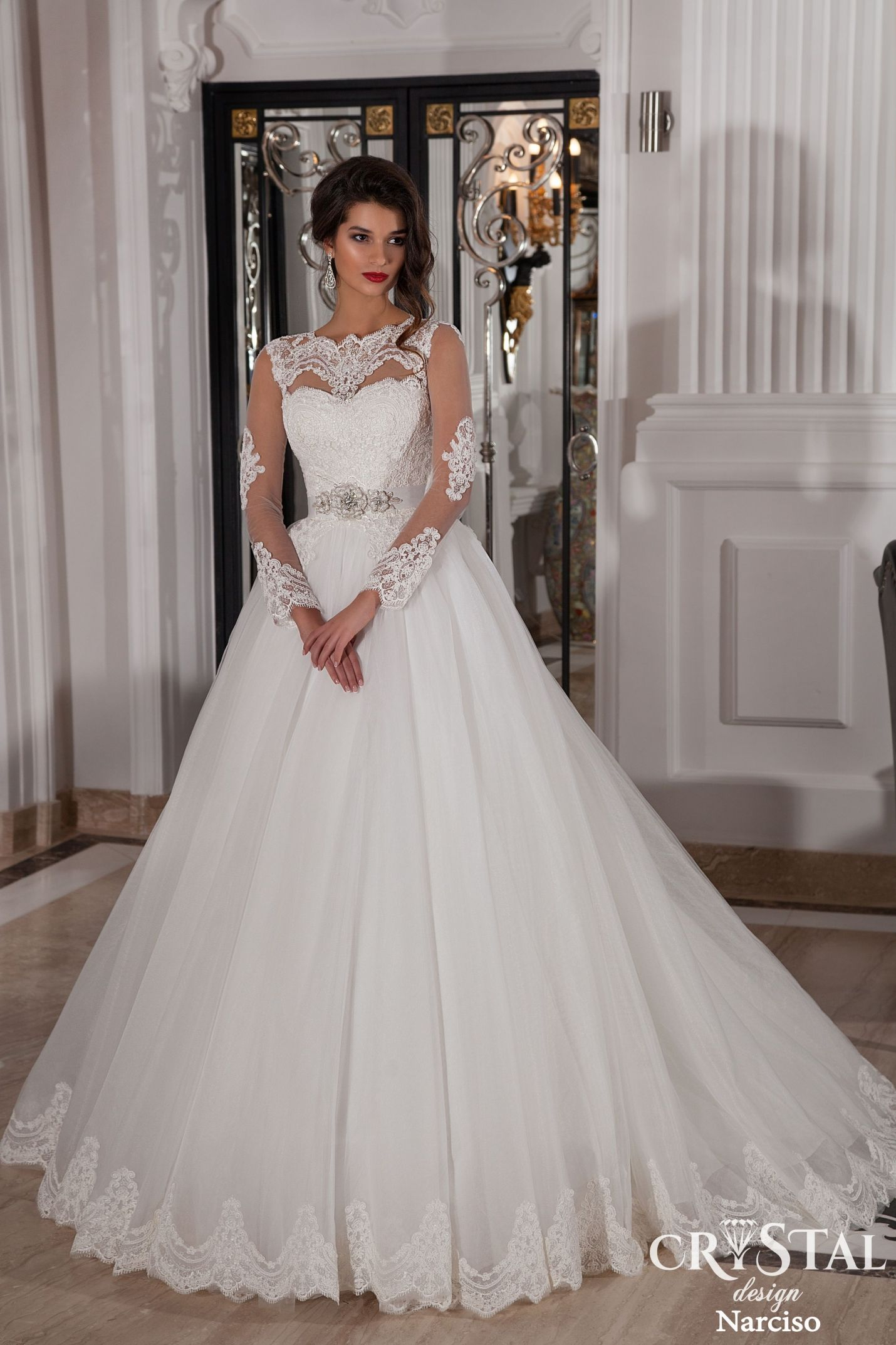 Crystal Design Wedding Collection 2015 Part 2 | Wedding Dress 2017 ...