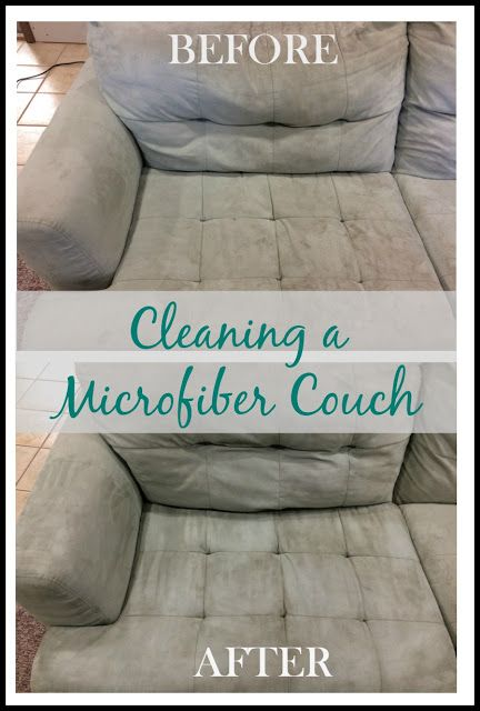 Cleaning A Microfiber Couch With Images
