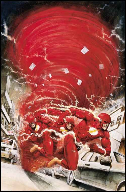 The Flash | Artist: Carl Critchlow