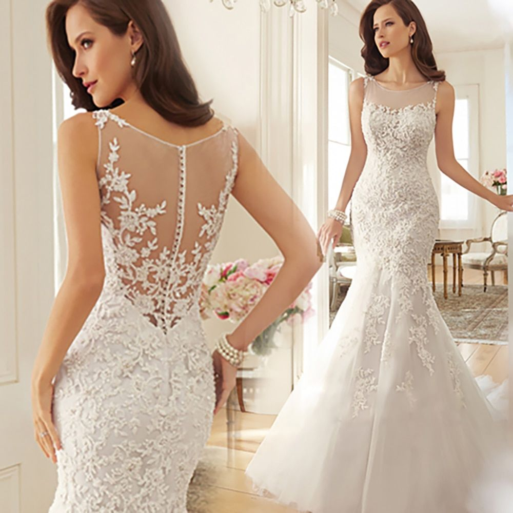 Aliexpress Com Buy Sl 82 Sweetheart Bling Bridal Gowns: Vestido De Noiva Lace Wedding Dress Custom Made Plus Size