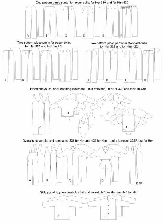 Free Sewing Patterns for Barbie Doll Clothes - Yahoo! Voices ...