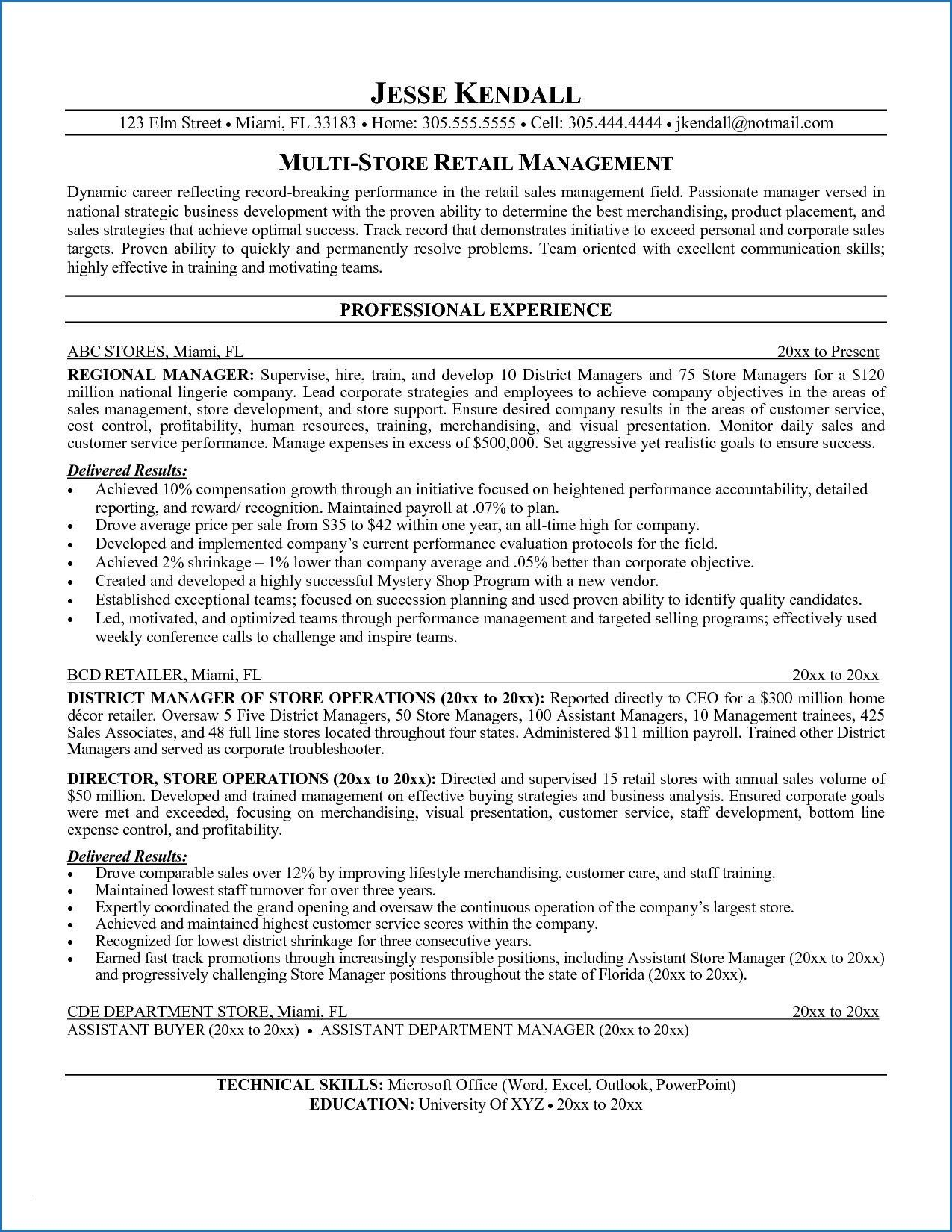 12 Medical Resume Profile Examples