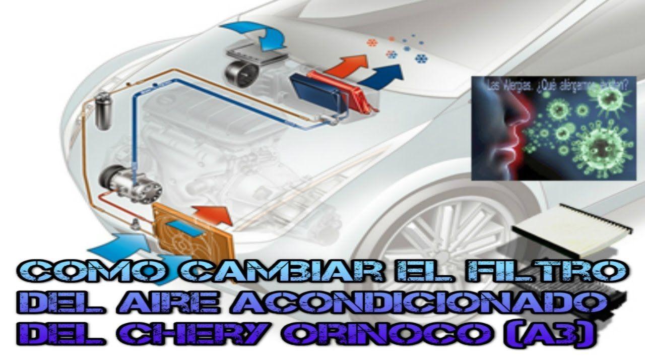 COMO CAMBIAR EL FILTRO DEL AIRE ACONDICIONADO DEL CHERY