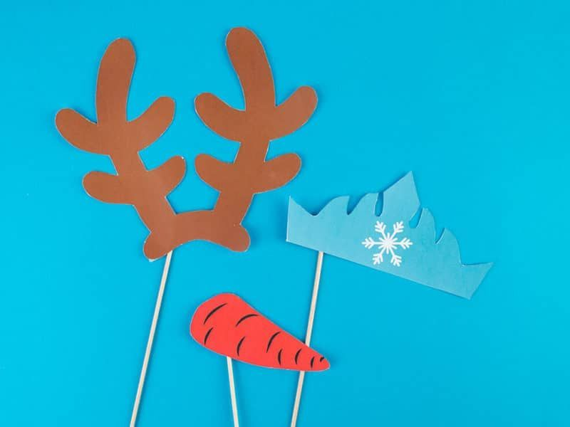 Photobooth reine des neiges #floconsdeneigeenpapier Flocons de neige en papier - Reine des Neiges - My Little Day - le blog #floconsdeneigeenpapier