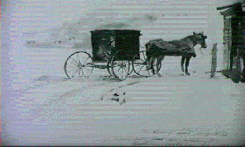 Andrew Wyeth - A Winter Scene