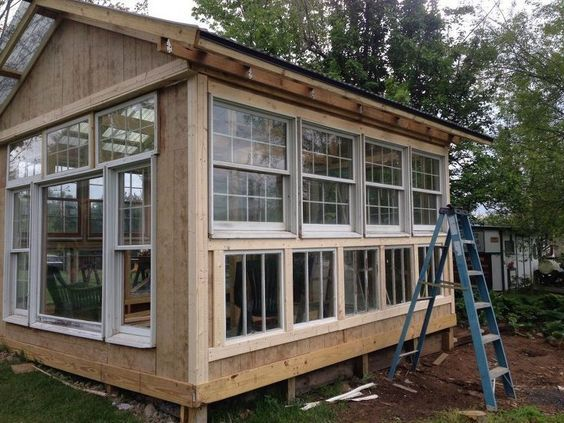 my hubby built a greenhouse, architecture, diy, gardening, outdoor living #greenhouseeffect