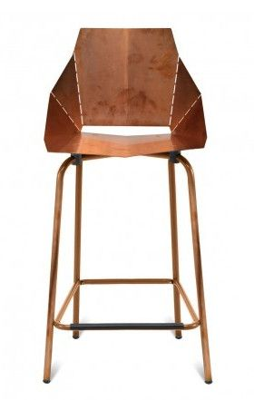 Real Good Counter Stool Copper In 2020 Modern Bar Stools Copper Bar Stools Bar Stools