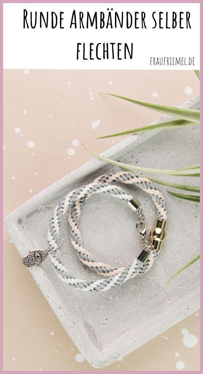 Photo of Make bracelets or lanyards yourself with Kumihimo | Mrs. Friemel