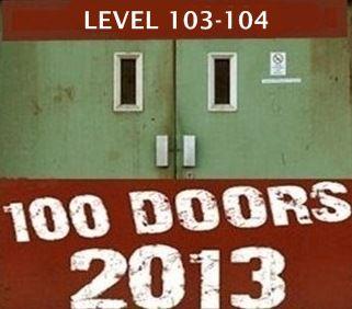 100 Doors 2013 Level 103 104 Dengan Gambar