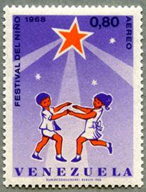 Stamp Venezuela 1968