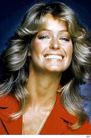 Farrah Fawcett-70/80s icon