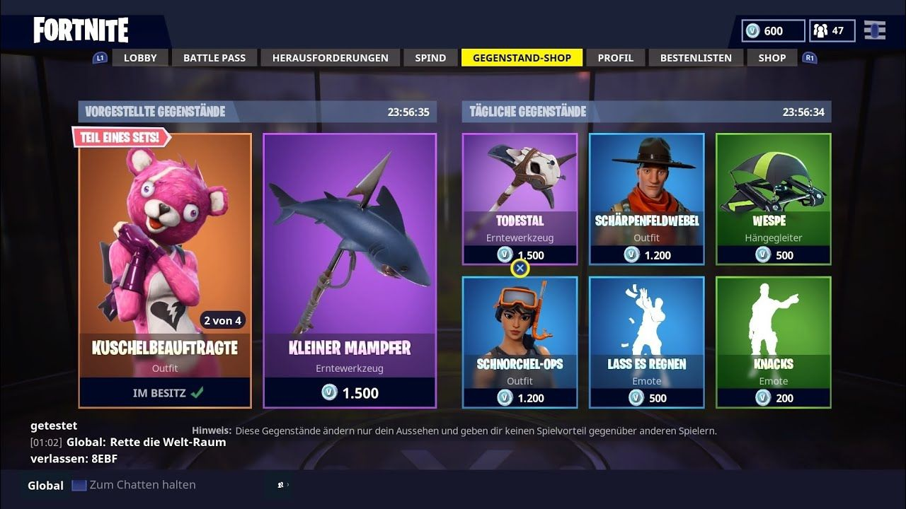 130318 Daily Fortnite Item Shop Weekly Items And Fornite