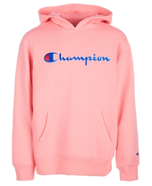 7d049915d98 Champion Little Girls Heritage Logo Hoodie - Pink 6X | Products in ...