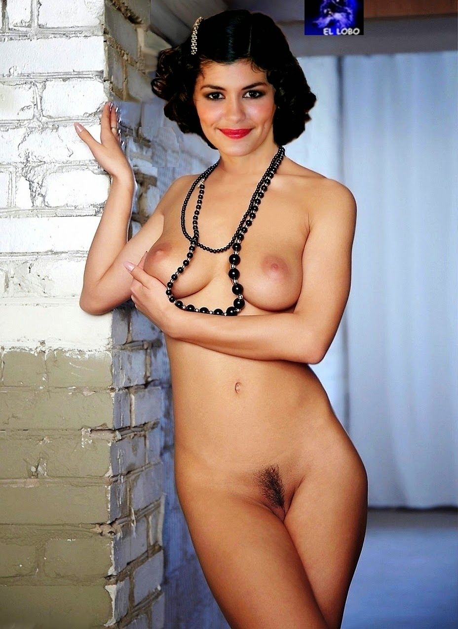 Audrey landest nackt