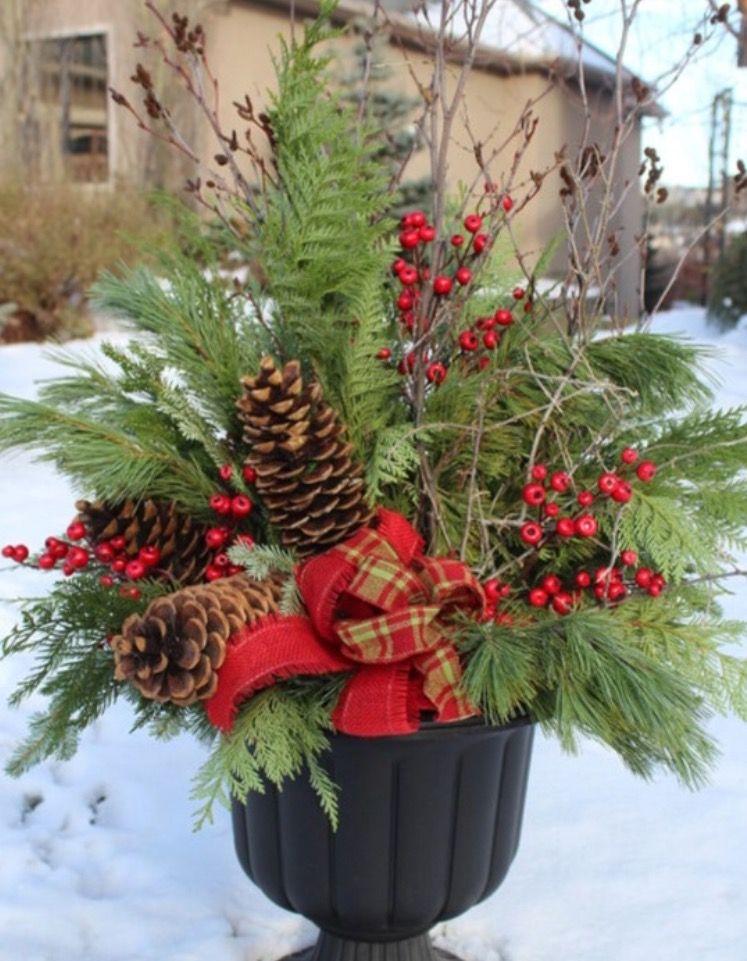 Pin de Pam Coates en Christmas Ideas Pinterest Decoraciones para - decoracion navidea para exteriores de casas