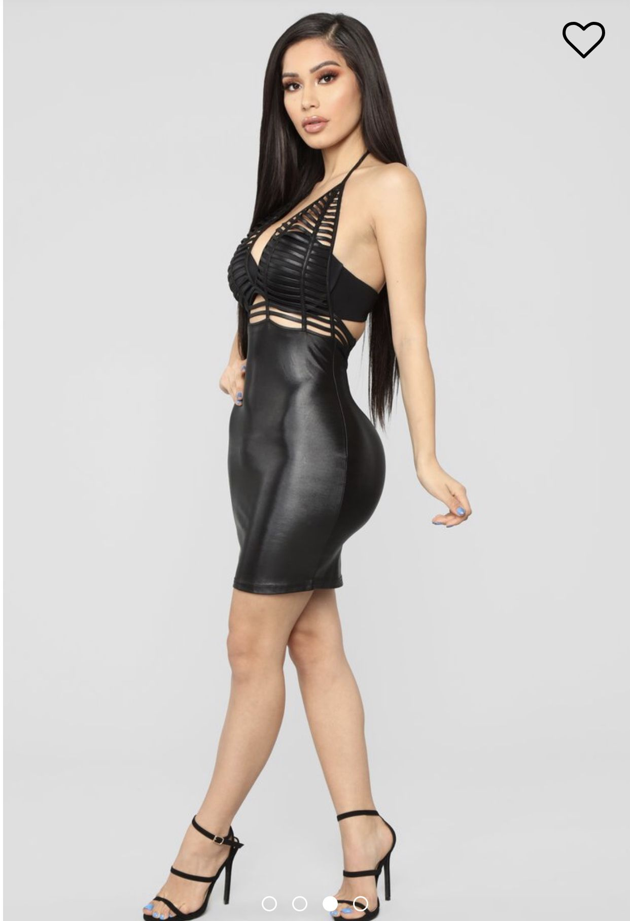 Women's Clothing Selfless New Sexy Leather Dress Women Strapless Mesh Bandeau Dress Wet-look Evening Party Clubwear Leather Bodycon Short Mini Dress