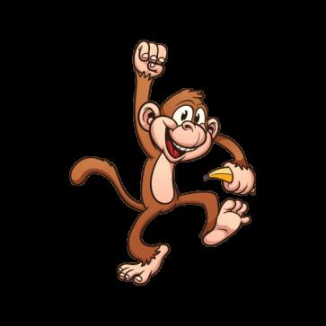 Happy Monkey 06381 Cartoon Monkey Monkey Drawing Monkeys Funny