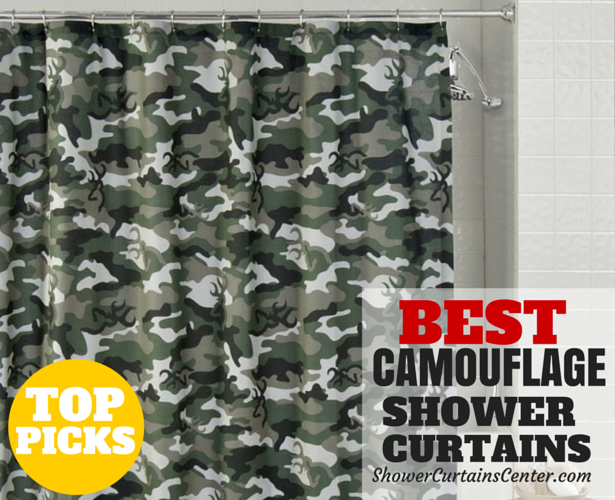 Camouflage Best Shower Curtains Available Online
