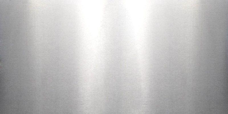 plaque d aluminium brut et brillant