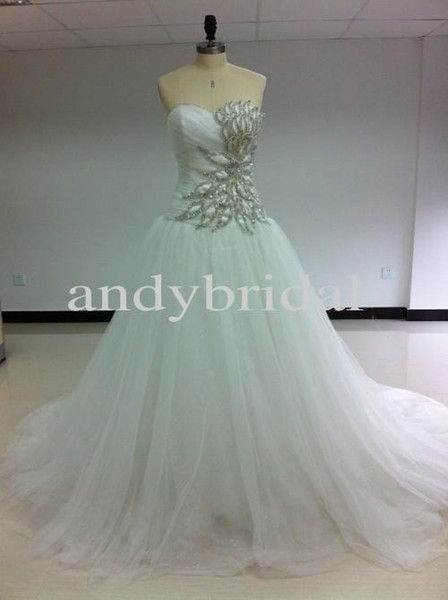 Cheap Ball Gown Wedding Dresses Cheap Bridal Gowns Real Pictures ...