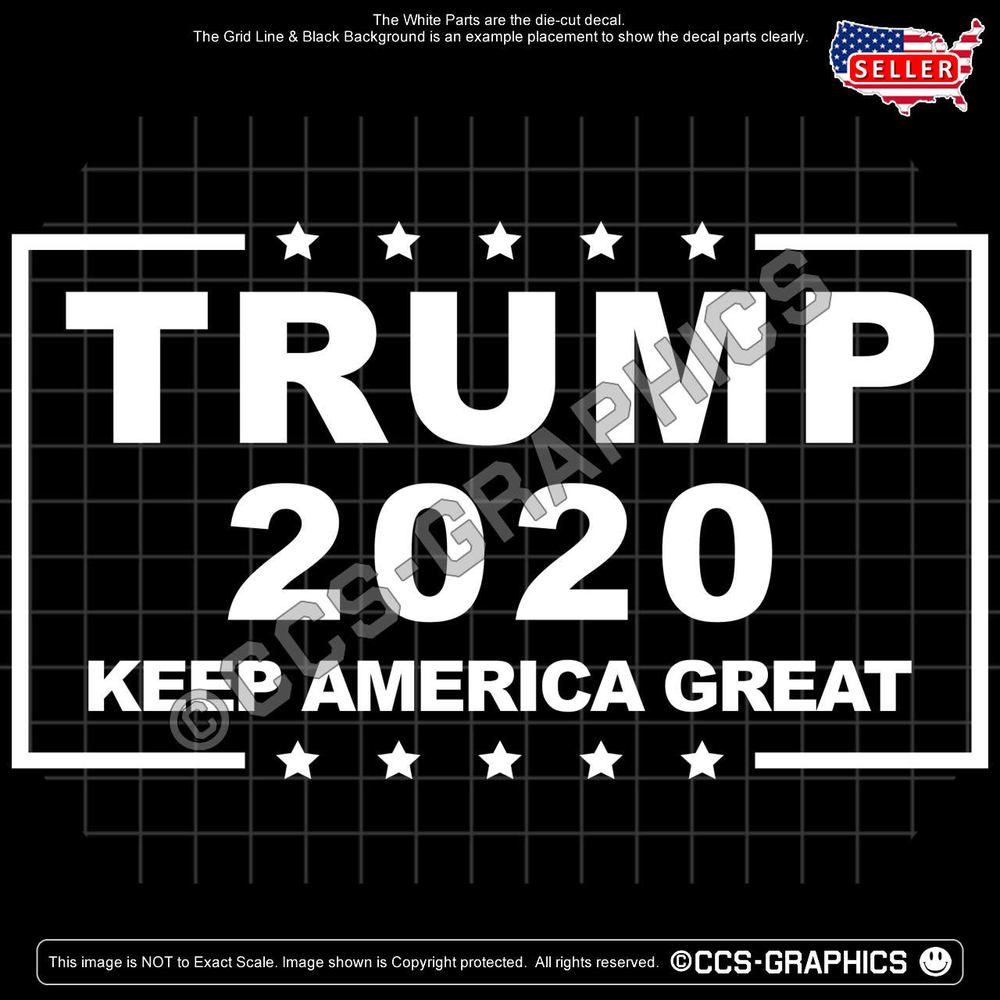 Pin on TRUMP 2020 Decals